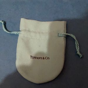 TIFFANY AND CO NECKLACE POUCH